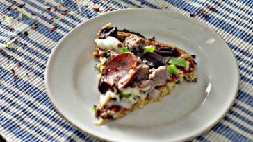 Supreme Cauliflower Crust Pizza