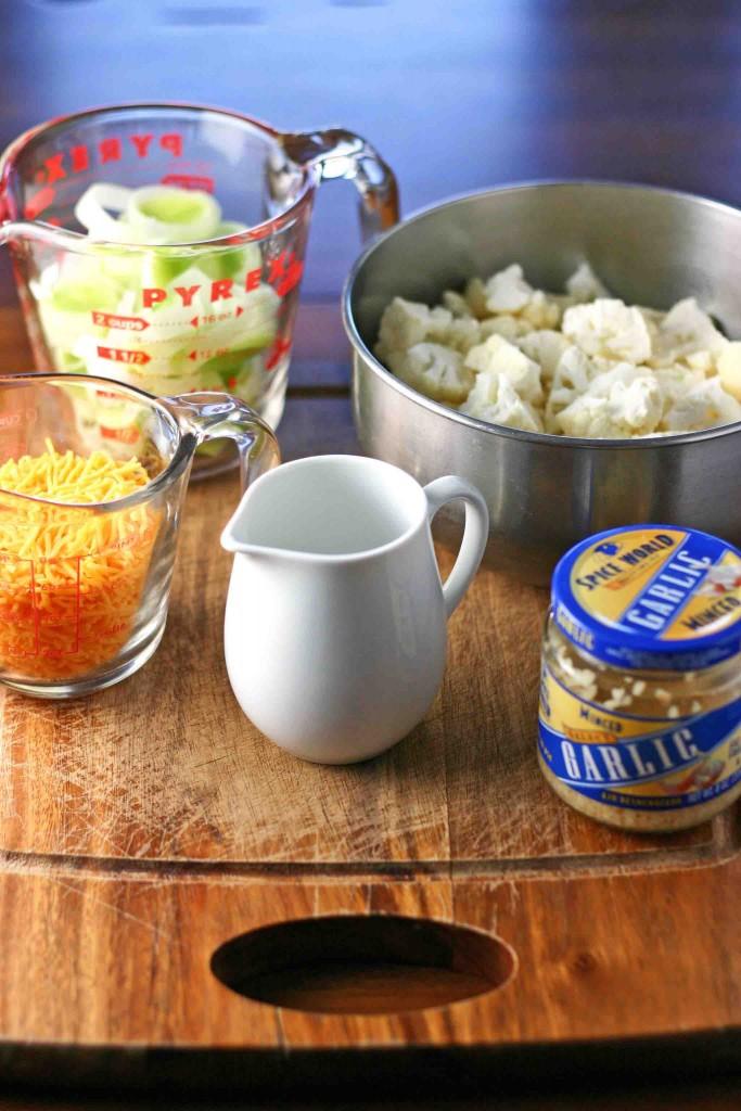 Cauliflower Gratin Ingredients